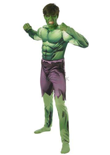 Hulk, talla L (incluye peluca y cejas) https://www.facebook.com/DisfracesCarnavalVinamarino/photos/?tab=album&album_id=122804281107629