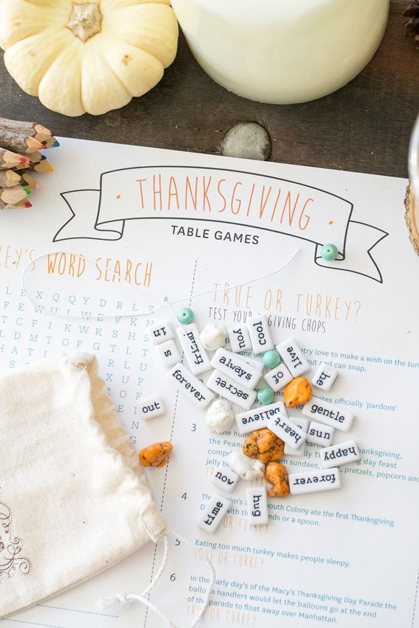 Tips For Creating the Perfect Thanksgiving Kids' Table