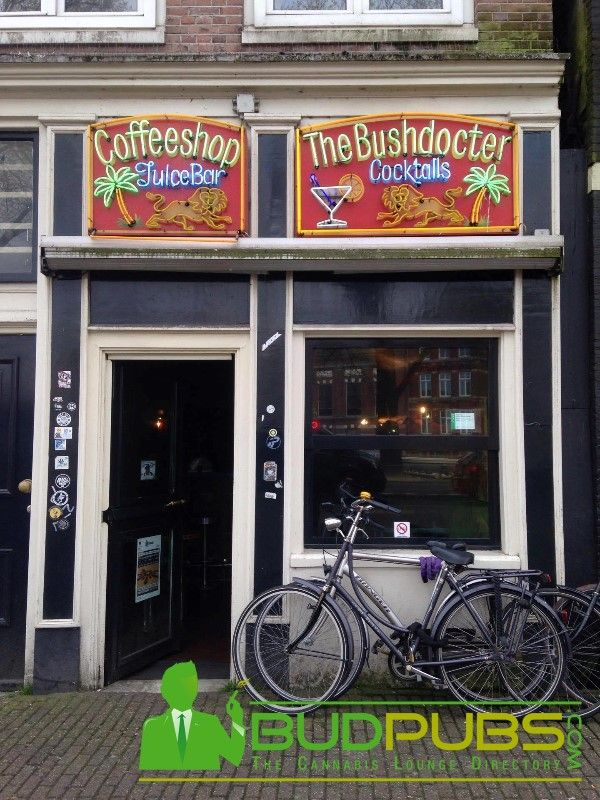 The Bushdocter Coffeeshop Is A Great Place To Smoke A