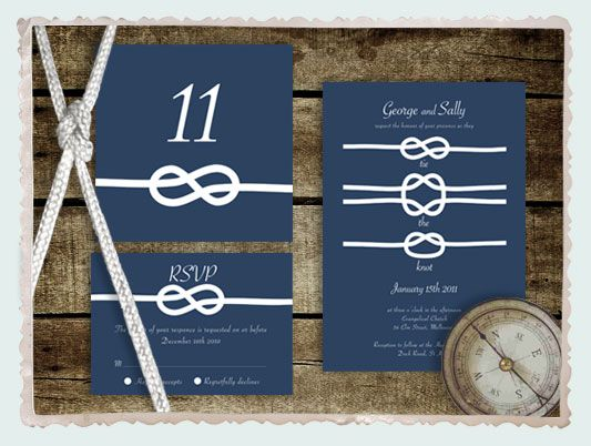How To Wedding Knot | DIY stationery: tie the knot