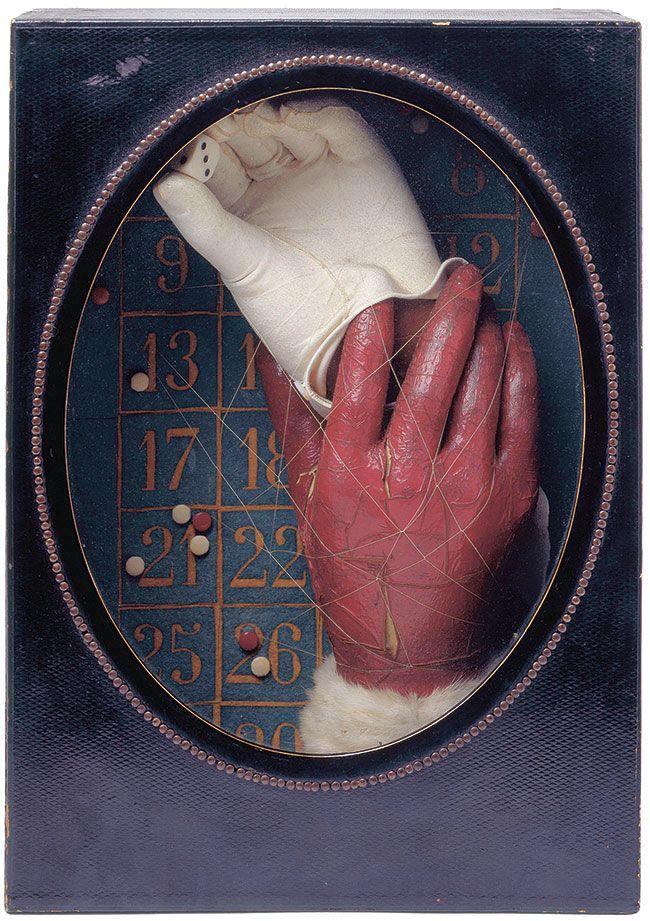 Valentine Hugo. – « Objet », assemblage d'objets divers, issu de la collection André Breton, 1931