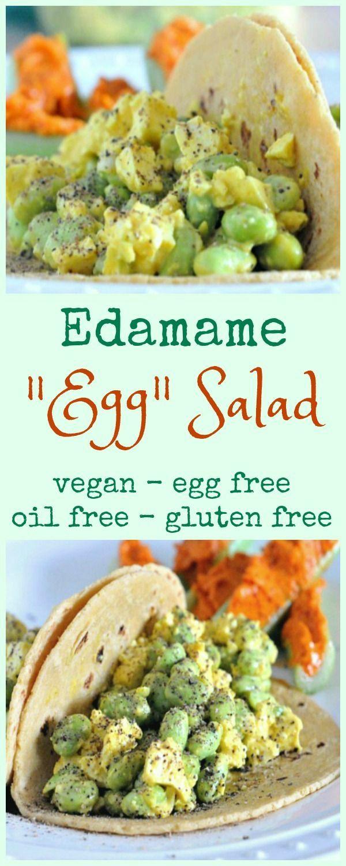 Vegan Edamame Egg Salad