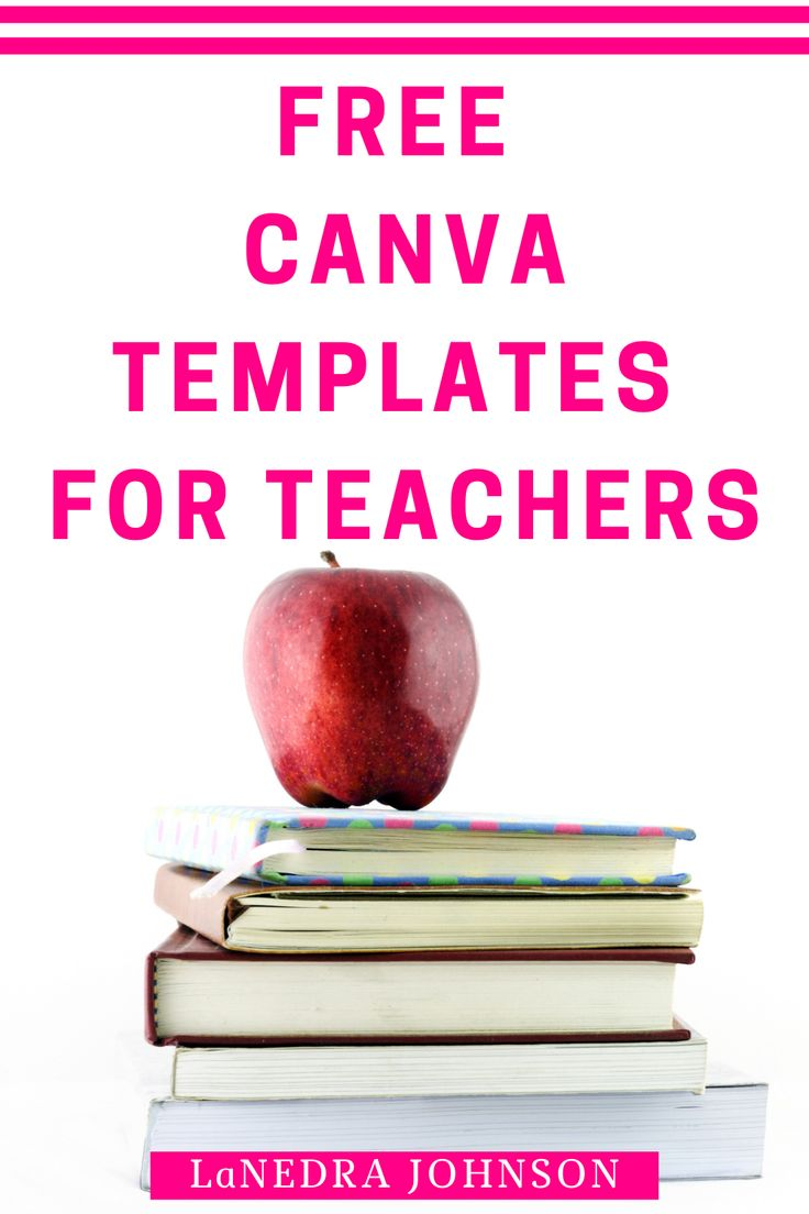 FREE Canva Templates For Teachers in 20   Templates, Free, Teachers