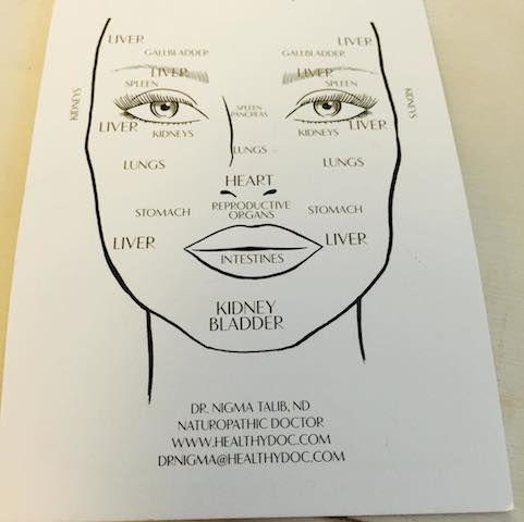 人間の食生活や内蔵の状態は「肌や顔を見れば、一目瞭然」。例えば、額・眉や目の周り・口元には肝臓、鼻先には心臓、唇は腸の状態が現れるのだというセレブも驚く「砂糖顔、乳製品顔、グルテン顔、ワイン顔」分析 | こちらハリウッド美容番