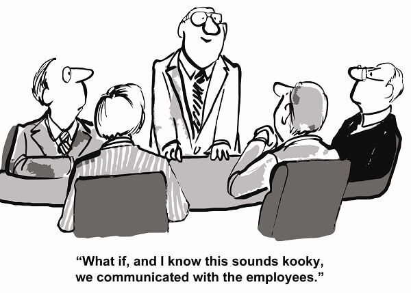 Overcoming resistance to change - Successful change management involves the employees