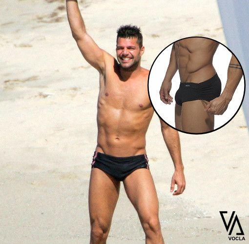 Ricky Martin In His Black Speedos In St Barts Rickymartin