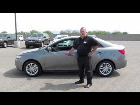 Bob Acord, Sales Floor Manager at Salazar Kia, talks about all of the great features of the 2012 Kia Forte EX.    Salazar Kia is proud to be the select Phoenix, Arizona area Kia dealer. Located in Avondale, we provide Kia vehicles, top-of-the-line service, and Kia parts to Phoenix, Avondale, and all surrounding cities, including Buckeye, Goodyear, Glendale, and Peoria. Our dealership carries a large inventory of new, used, and certified Kia cars, crossovers, and vans. Se Habla Español.