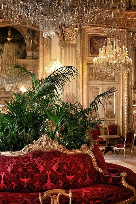 Louvre Museum, Apartments of Napoleon III ~ Paris, Ile de France, France