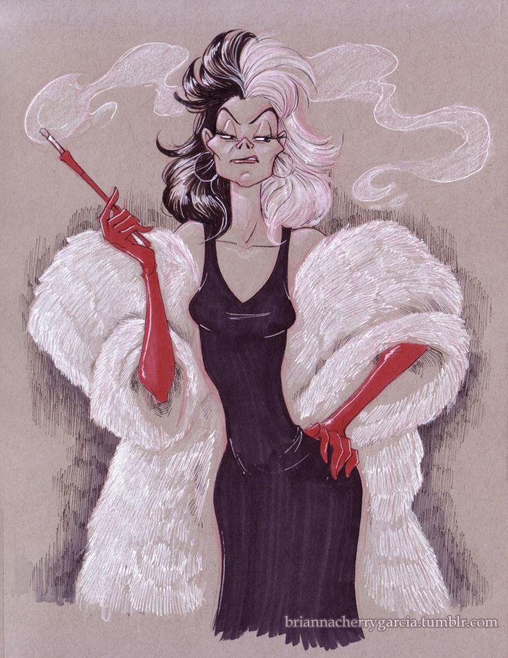 Cruella by briannacherrygarcia on @DeviantArt