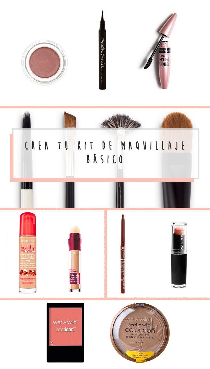 """Crea tu kit de maquillaje básico con productos """"Drugstore"""". ¡Económicos y que realmente funcionan!"""