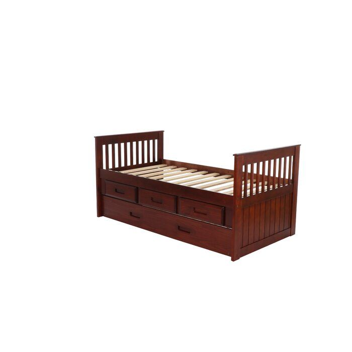 Trumble Twin Sleigh Bed With Drawers With Images Twin Sleigh