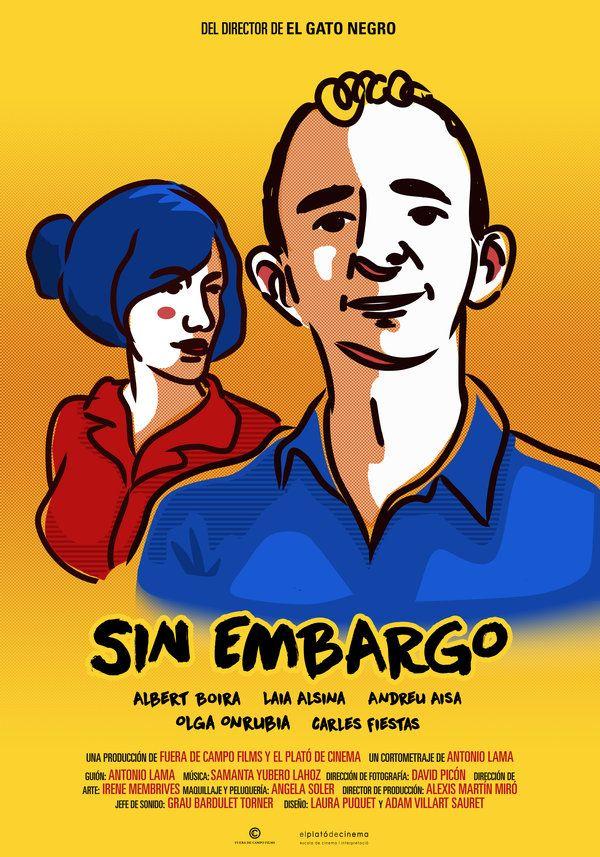 """#CORTOMETRAJE #FILM #FICCION #CROWDFUNDING - Póster promocional de """"Sin Embargo"""", el nuevo trabajo de ficción de la productora Fuera de Campo Films. Dirigido por Antonio Lama, el cortometraje documenta en clave de comedia ácida las operaciones diarias que un peculiar personaje, Mariano, realiza cada día en la misma sucursal bancaria. Crowdfunding Verkami: http://www.verkami.com/projects/10388-sin-embargo/"""