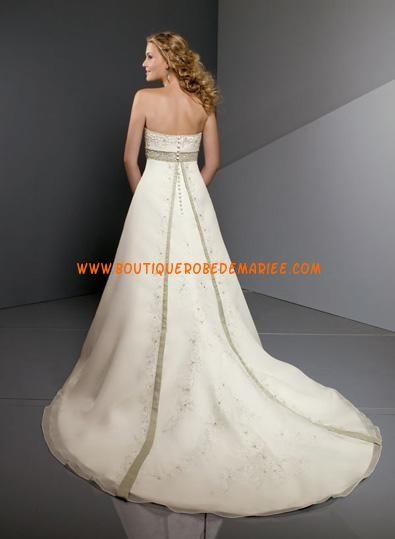 Robe de mariée 2011 à bustier taille soulevée