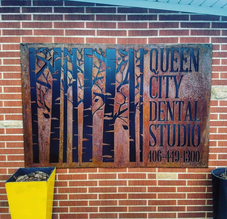 Glad I got to be part of this sign that signs now had me cut out and rust for them! Thanks guys . .. #teeth #dental #odontologia #dentistry #braces #dentalschool #dentalassistant #dentalhygienist #dentalhygieneschool #teethwhitening #metalart #rustic #toothfairy #implants #dentures #rootcanal #odonto #smile #whiteteeth #cavity #cloves #aboutdentistry #dentist #dentista #tooth #medical #dentalhygiene #doctor #health #montana