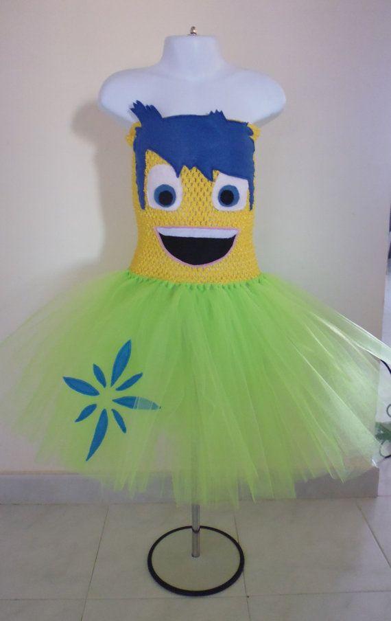 Joy inside out inspired tutu dress