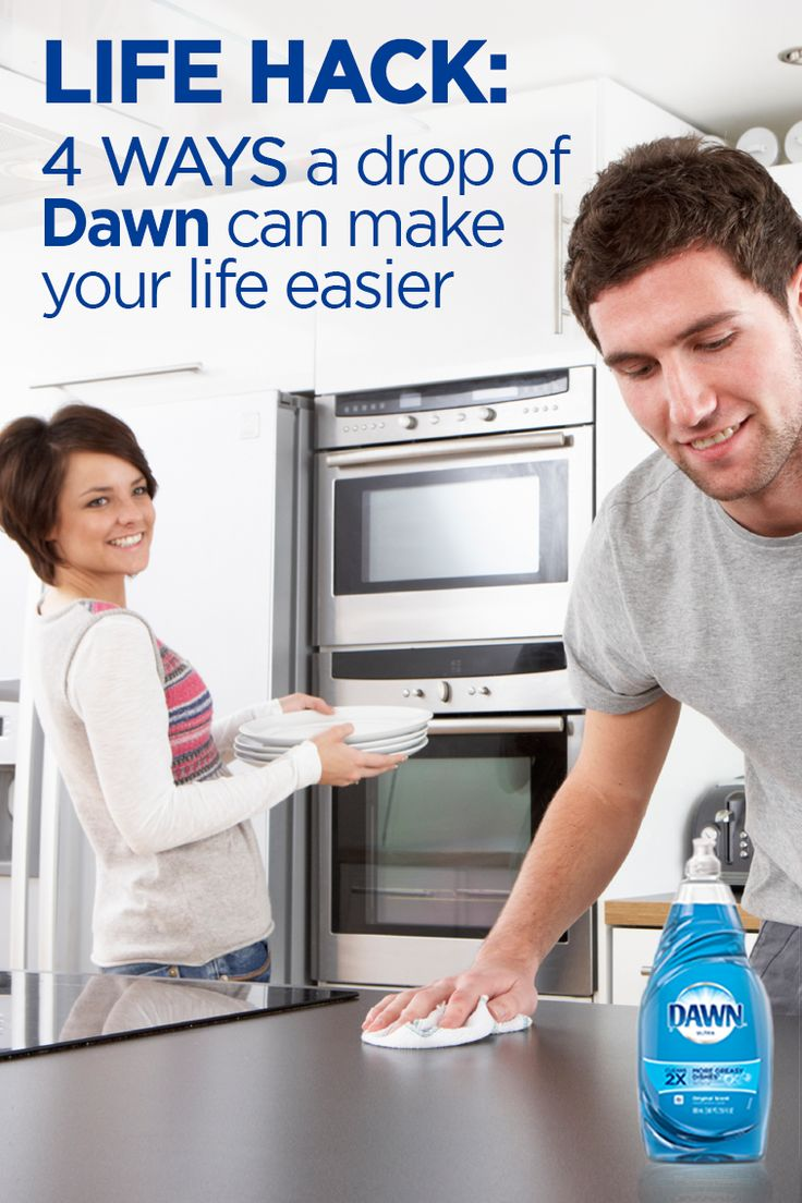 Just a drop of Dawn dish soap can go a long way... and out of the kitchen! Check out the unique and unexpected ways to use original blue Dawn around the house! Use Dawn as a laundry pre-treat, kitchen surface cleaner, hand tool cleaner, or even a wheel cleaner! For full instructions, click here: http://dawn-dish.com/en-us/solutions-tips/beyond-the-sink
