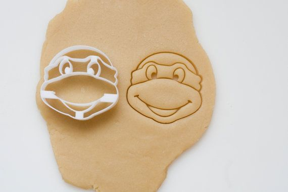@ashleyk1027   For the kids!!  Ninja Turtle Cookie Cutter by HomePrint3D on Etsy
