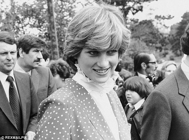 May 22, 1981: Prince Charles and Lady Diana Spencer visiting Tetbury's District Hospital, Tetbury, Gloucestershire.