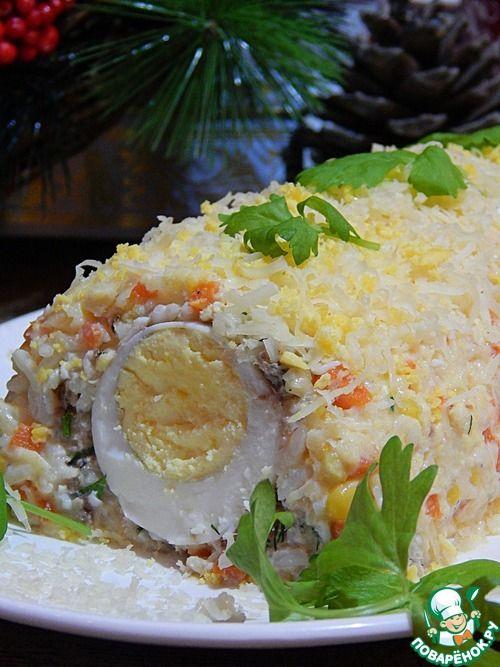 """И еще раз салат """"Мимоза"""" - кулинарный рецепт"""