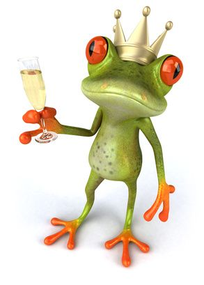 Epiphany in France - how do the French celebrate Epiphany? By eating a cake, drinking sparkling wine and wearing a cardboard crown of course! Who will be crowned King or Queen in France this year? http://www.frogslegsontoast.com