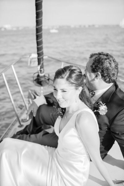 Yacht wedding in Sarasota. Photography by sophantheamphotography.com Floral Design by tigerlilyflowers.com  Read more - http://www.stylemepretty.com/2013/06/26/sarasota-florida-sailboat-wedding-from-sophan-theam-photography/