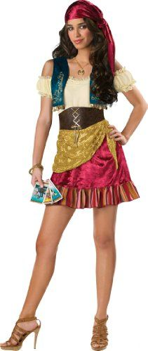 LLC Gypsy Teen Dress by Incharacter Donu0027t miss OUT! on In Character Costumes  sc 1 st  Pinterest & The 81 best Gypsy Costumes images on Pinterest | Image link Amazon ...