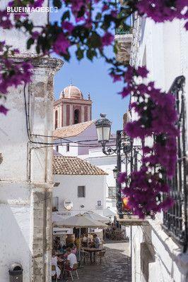Altstadt von Tarifa. Old part of the city of tarifa. Spain