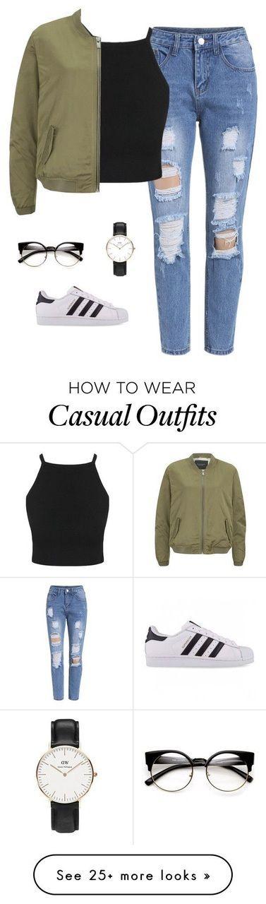 Imagen de Outfit, adidas und lässig