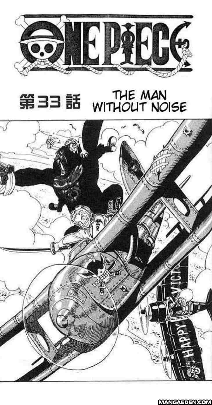 Read One Piece 33 Online For Free in English: 33 - page 1 - Manga Eden