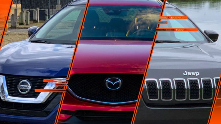 SUV smackdown: Comparing a Nissan Rogue, Jeep Cherokee, and Mazda CX-5 – Technology Page