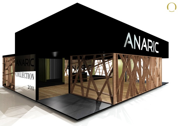 Design, Assembly and Dismantling Stand Anaric - Fair Export Home, Exponor…