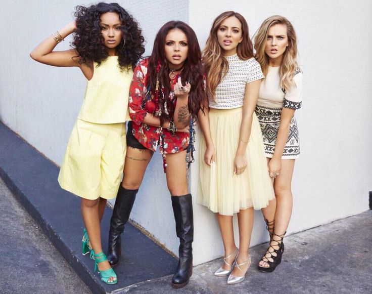 Little Mix Photoshoot Get Weird