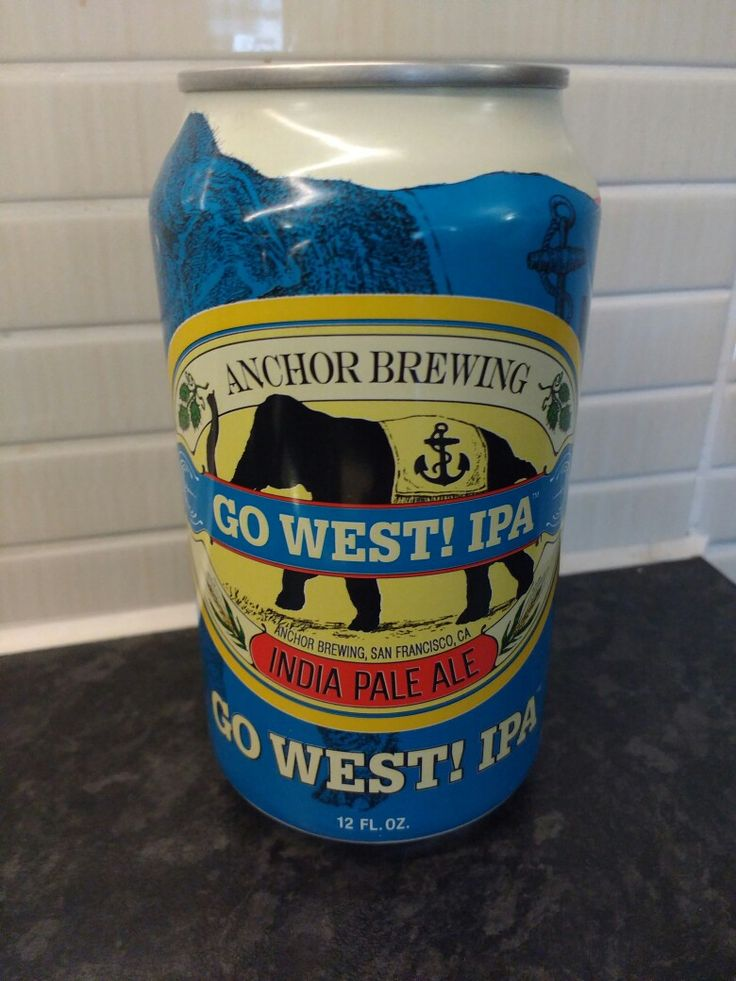 Anchor Brewing - Go West! IPA