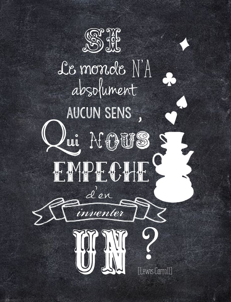 Alice au Pays des Merveilles....