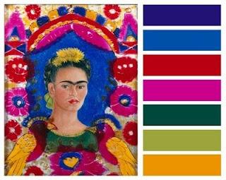 Paleta de colores de Frida