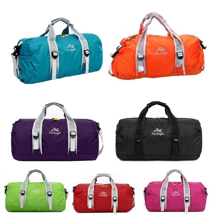810488a21ce3  Visit to Buy  High Quality Unisex 210 Waterproof Nylon Large Capacity  Ultralight Foldable Outdoor Gym Bag Sports Bags Travel Duffle Bags