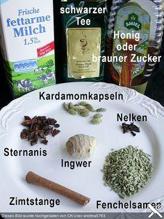 WIEDER MACHEN, aber nach diesem Rezept hier Tee + Milch nur die letzten min: http://www.chefkoch.de/rezepte/661211167916188/Masala-Chai-Tee.html