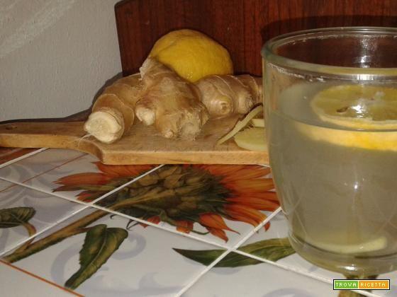 Tisana allo zenzero e limone  #ricette #food #recipes