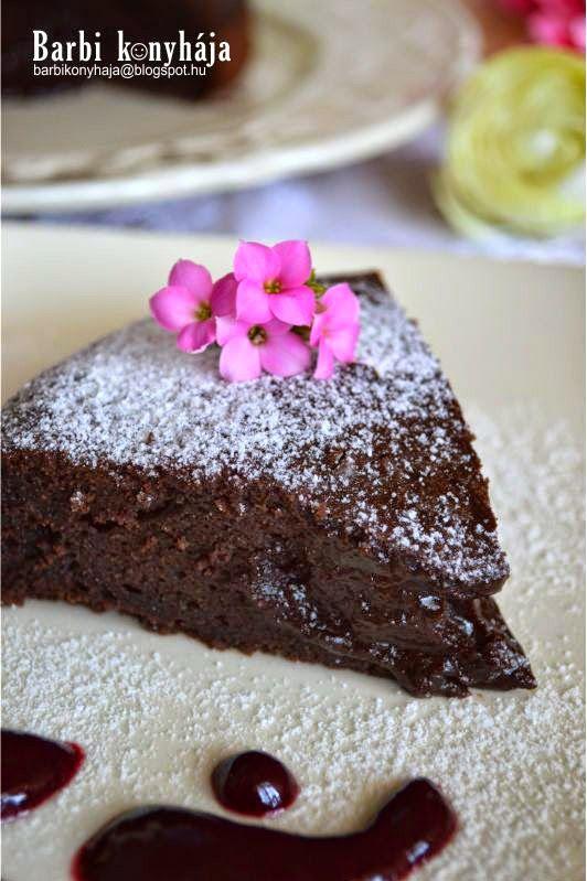 Barbi konyhája: Olvadó csokoládétorta - Paleo