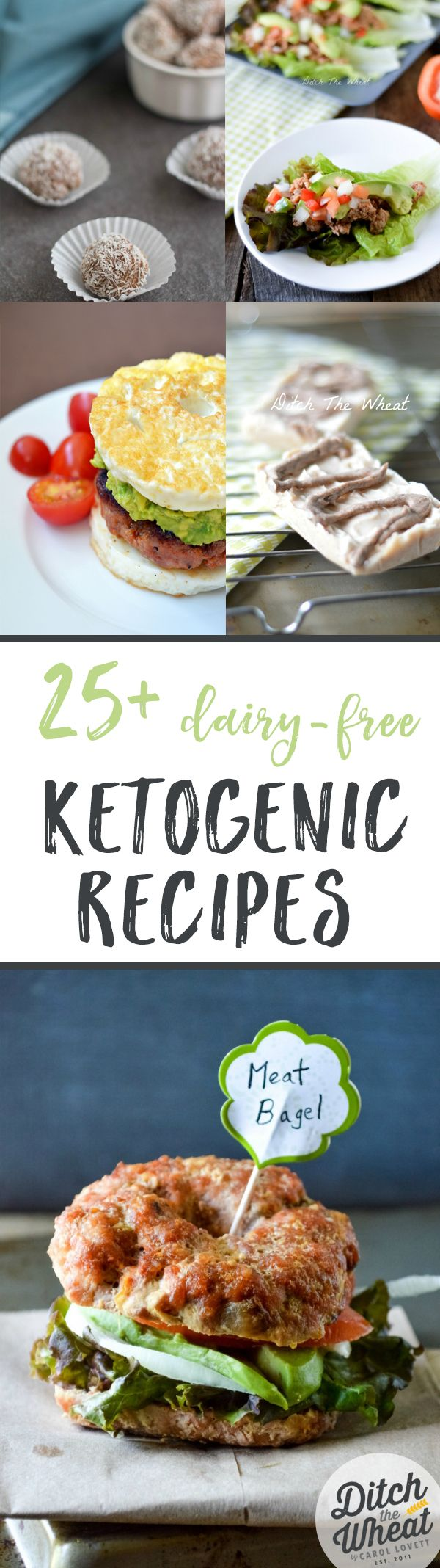 Sticking to a ketogenic diet can be difficult when also trying to avoid dairy. Here are 25 delicious recipes to help you!