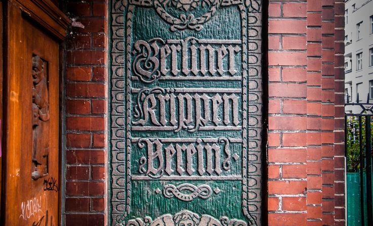 Discover Berlin on a visual, typographic tour, courtesy of Berlin Typography: https://berlintypography.wordpress.com