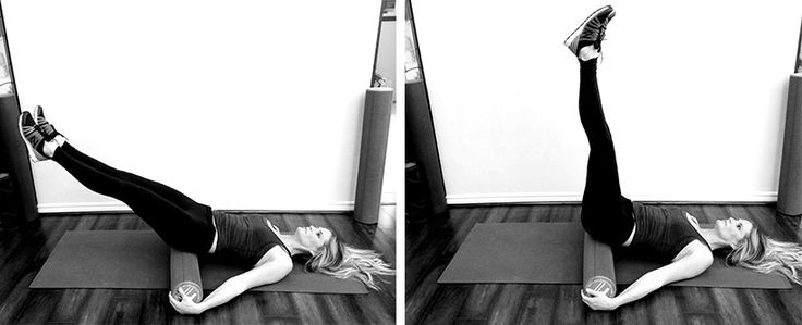 Inverted Shrinker -Benefit: This inversion stimulates the lymphatic system, and helps tone and lift your core muscles and organs. This move also gives your lower back a soft tissue fascia release and lubricates your lower back and hips.