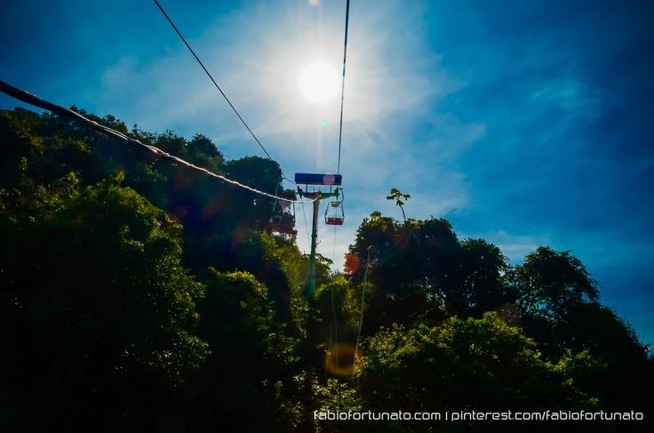 Teleférico de São Vicente - SP - Brasil: Sao Paulo, Are Of, São Vicente