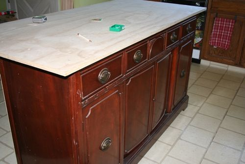 X Kitchen Island