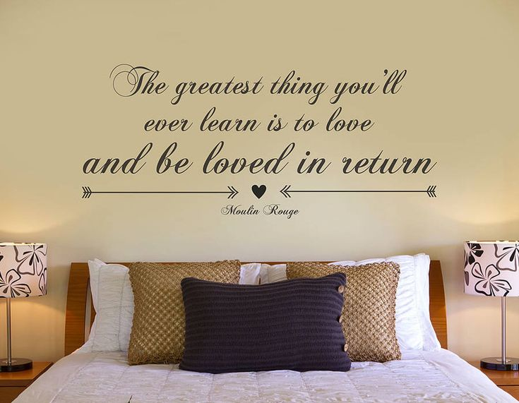 Delightful U0027The Greatest Thingu0027 Quote Vinyl Sticker | Contemporary Wall Stickers I  Want This So Part 26