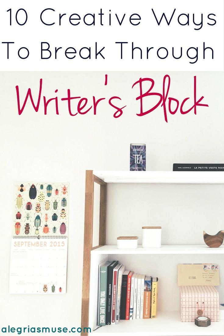 The Top 10 Ways to Beat Writer's Block