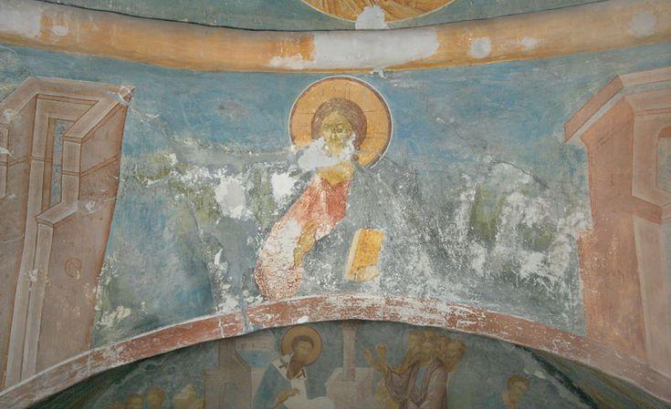 Музей фресок Дионисия - Купол, барабан и паруса - Христос Вседержитель