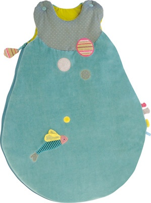 Gigoteuse bleue Les Pachats (taille 1) - Moulin Roty