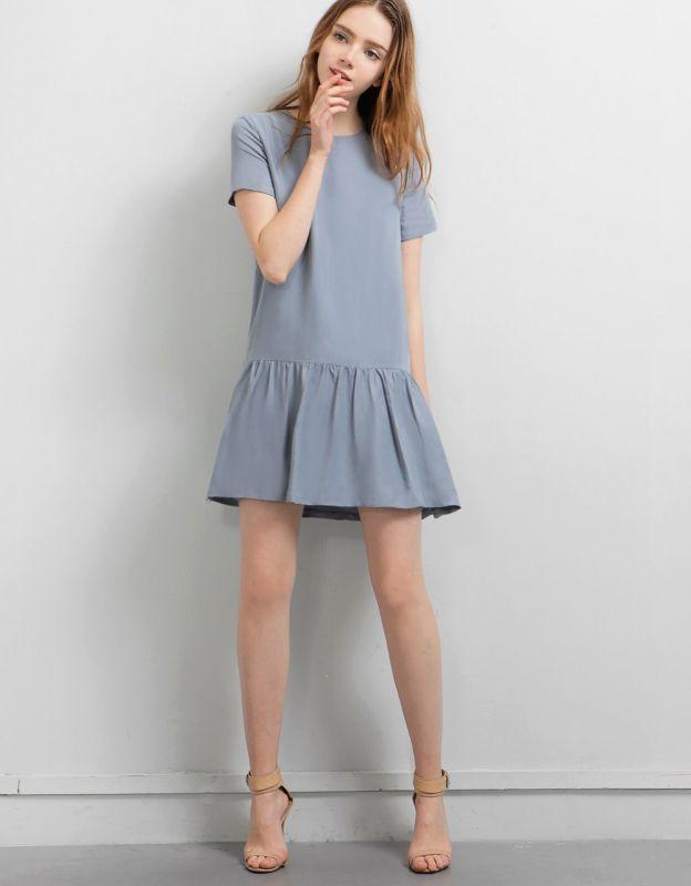 Cristina Silk Dress - SaturdayClub
