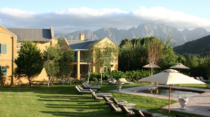 Franschhoek Country House & Villas   Bench Africa